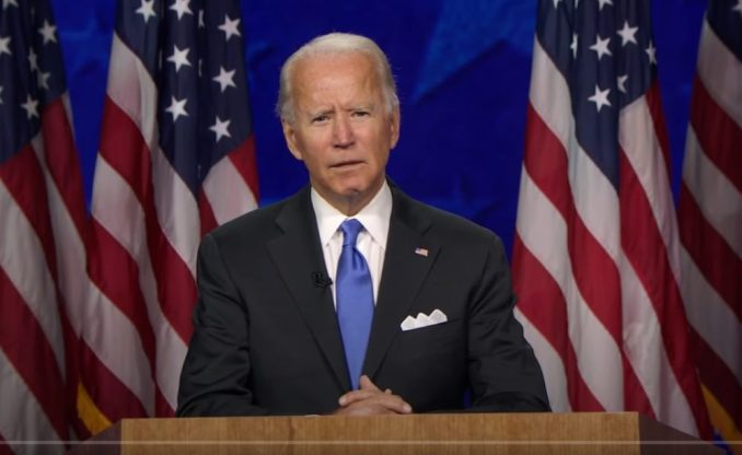 Biden's DNC Speech Suffers Low Ratings Even As Americans Stay Home