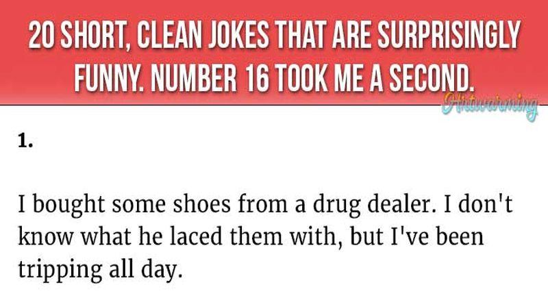 Hilarious Jokes Short Clean