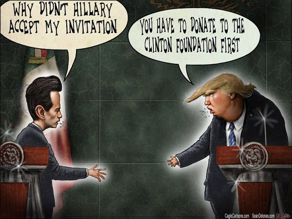 The REAL Reason Trump Went to Mexico But Not Hillary