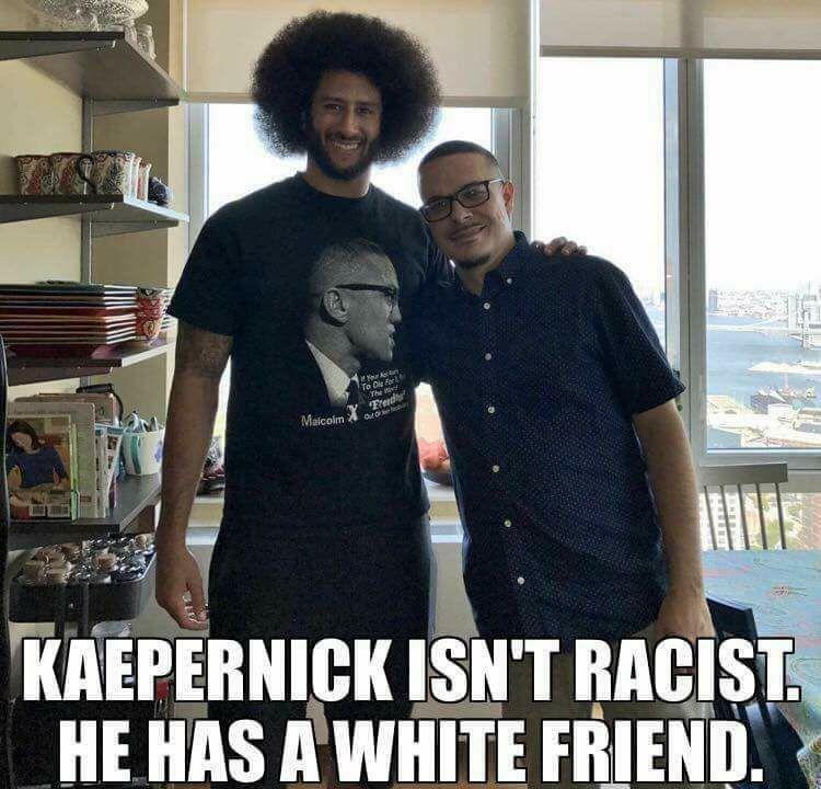 Photo of Colin Kaepernick and Shaun King Goes Viral