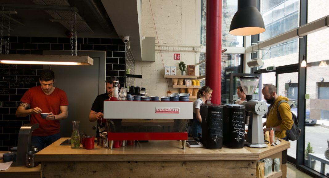 Urbanity Cafe Dublin 7 Counter