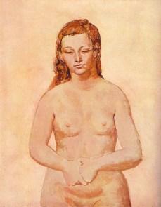 Nu aux mains serrées, 1906