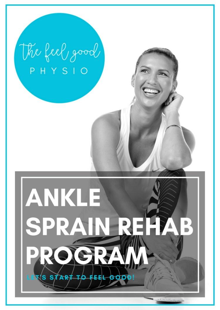 Ankle Sprain Rehab Program