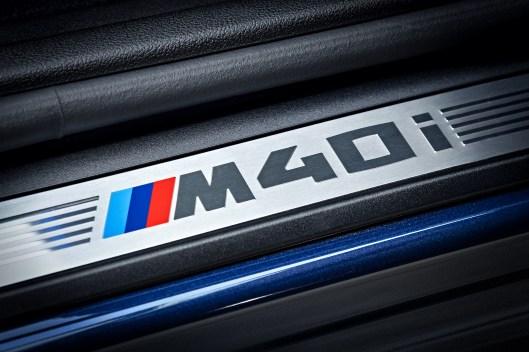 2018 BMW X3 M40i Door Badge