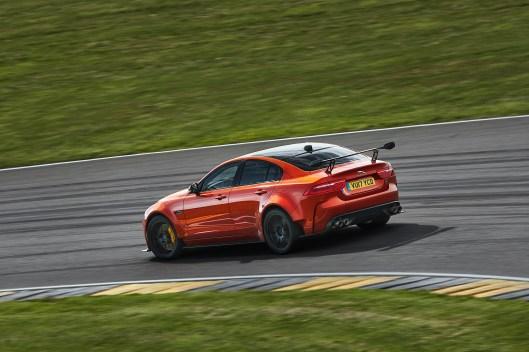 Jaguar XE SV Project 8 Rear Track