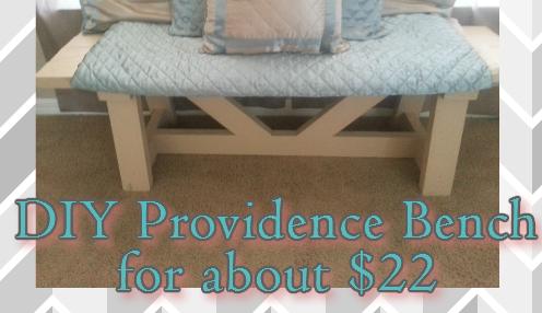 diy providence bench