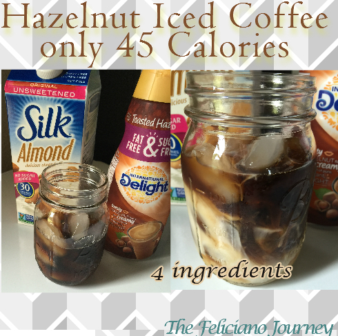 hazelnut iced coffee
