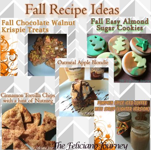 fall recipe ideas