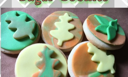 Easy Fall Sugar Cookies
