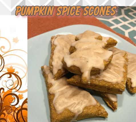The Feliciano Journey pumpkin-scones