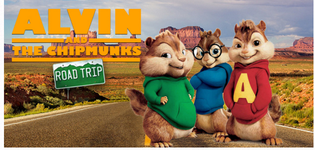 Alvin & the Chipmunks Road Trip Free Passes (Austin, TX)