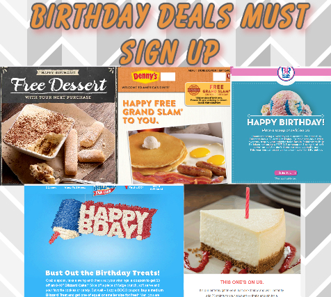 Birthday sites to sign up
