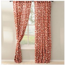 Kirkland Curtains sale pay as low as $23.80 for the set of 84in.