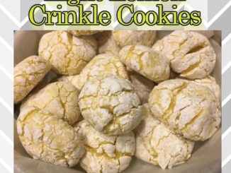 The Feliciano Journey lemon-crinkle-cookies