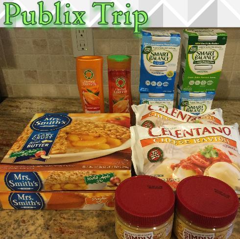 Publix Shopping Trip 12/10/15 – OOP $13.56