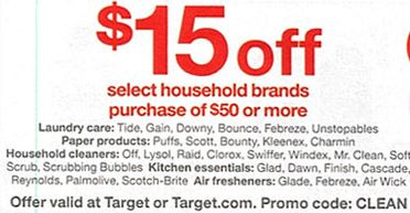 Target Sunday Coupons Expected – 12/27/15