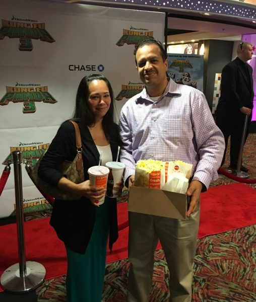 Kung Fu Panda 3 Movie Experience – it was like a Red Carpet Premiere