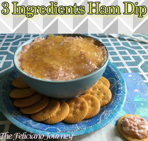 3 Ingredients Ham Dip
