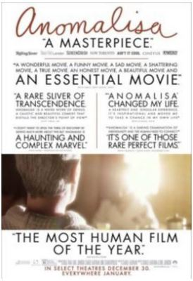 Tampa/Oldsmar See Anomalisa for FREE 1/19/16