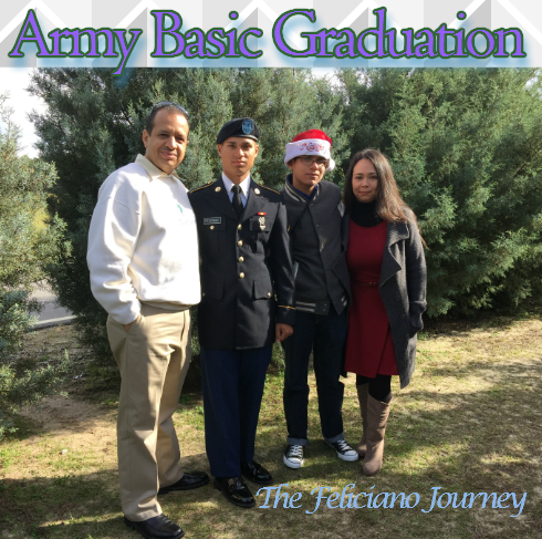 The Feliciano Journey army-graduation