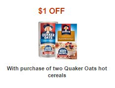 Publix – Quaker Oatmeal as low as $.48 each (ends today)