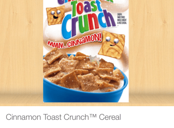 Publix Cinnamon Toast Crunch as low as $1.00 (w/ibotta)
