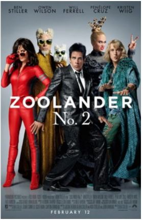 Royal Palm Beach area see Zoolander 2 on 2/9 (get your tickets)