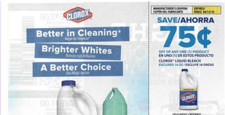 Publix Clorox Liquid as low as $1.25 (starts today)