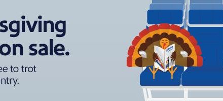 Southwest Thanksgiving travel sale (deals starting at $59)