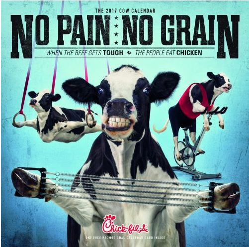 Chick Fil A Calendar 2017 (available now)