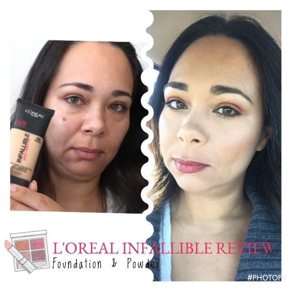 Drugstore L'Oréal infallible Pro-Matte Review