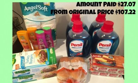Publix Trip 2/9/17 – $27.07 from $107.22