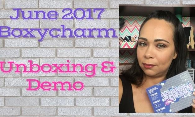 Boxycharm June 2017