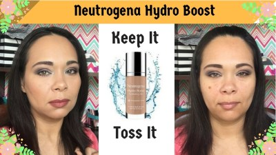 First impression Neutrogena Hydro Boost Foundation and Concealer