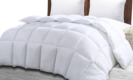 Queen Comforter Duvet Insert White – Quilted Comforter with Corner Tabs – Hypoallergenic, Plush Siliconized Fiberfill, Box Stitched Down Alternative Comforter by Utopia Bedding