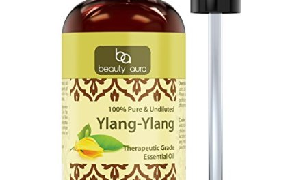 Beauty Aura Ylang Ylang (Cananga Odorata) Essential Oil – 4 Oz. Bottle- 100% Pure, Undiluted Therapeutic Grade Oils – Ideal for Aromatherapy