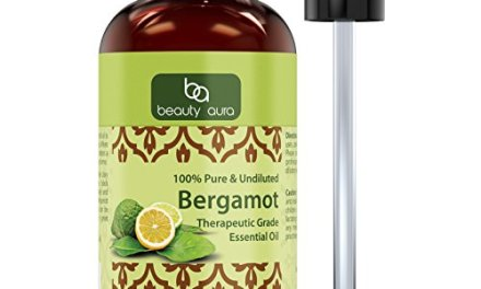 Beauty Aura Essential Oil, Bergamot, 4 Ounce