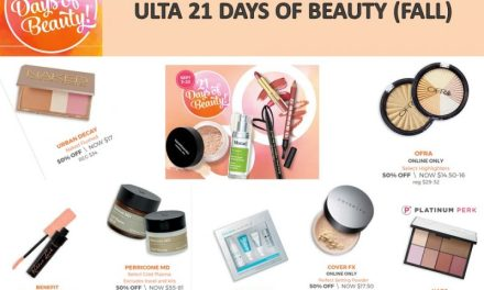 Ulta: 21 Days of Beauty (What is on special today) 9/9/17