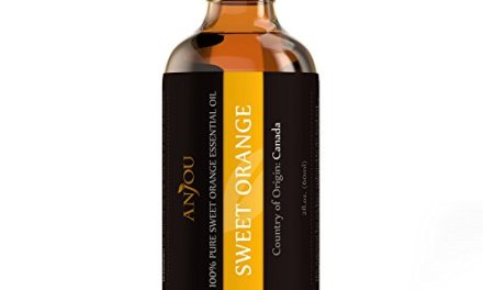 Orange Oil 100% Pure Natural Sweet Orange Essential Oil by Anjou 2 fl. Oz (Aromatherapy, Therapeutic Grade, Boosts Immune System, Improves Skin Quality, Natural Cortisol Regulator, Sanitizer)