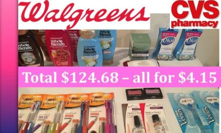 CVS & Walgreens Haul 8/20/17 (Paid $4.15 out of $124.68)