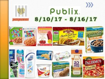 Publix best deals (starting Thursday) 8/10/17