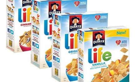 Amazon: Quaker Life Cereal 4 pk (as low as $1.44 each)