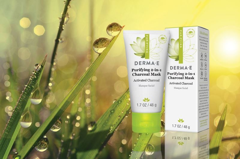 FREE: Derma-E Purifying 2 in 1 Charcoal Mask