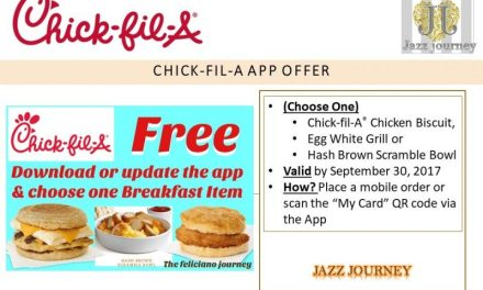 Chick-fil-A FREE Breakfast Item (3 to choose from)