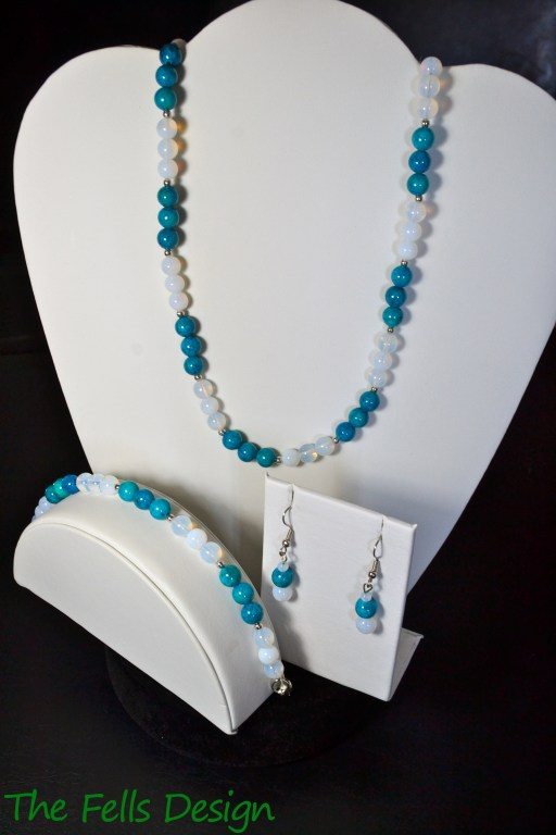 Ocean Waters Set made of glass beads