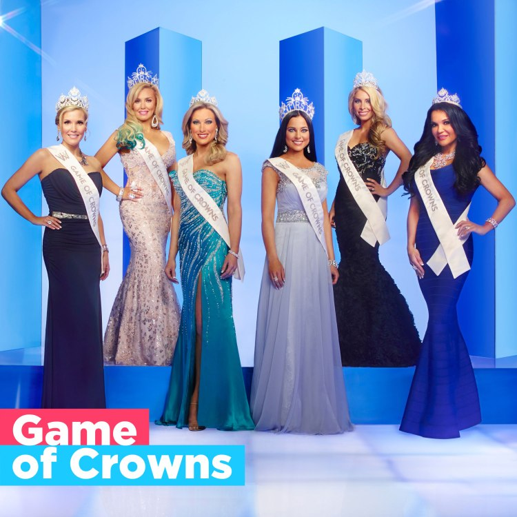 Official poster for reality TV show Game of Crowns