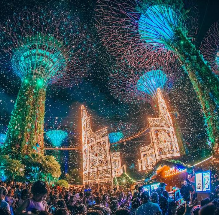 Christmas Wonderland at Gardens by the bay Garden Rhapsody - The Christmas Special