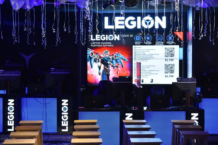 Before the tournament: The battle ground of the first all-female gaming tournament for Legion of Valkyries