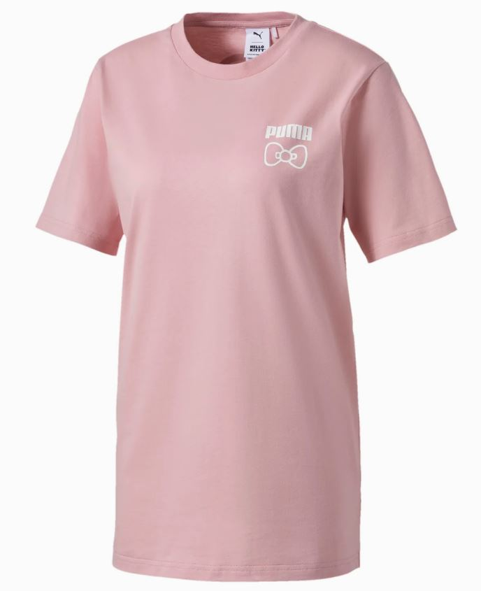 Puma and Hello kitty tee shirt in pink