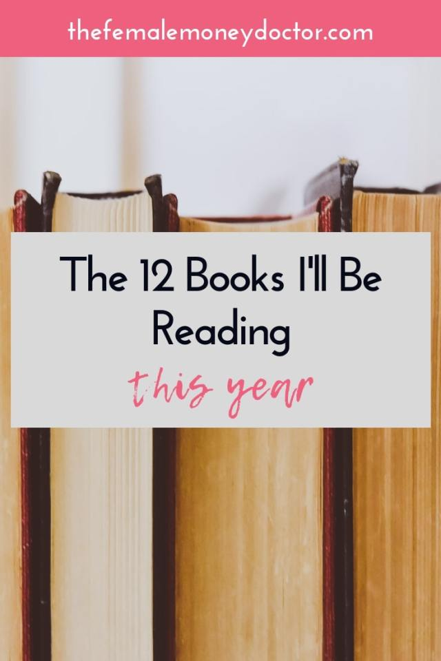 12 books I'll be reading